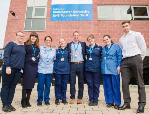 Wythenshawe Hospital becomes first in the UK to offer addiction treatment to all patients who smoke